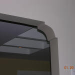 dining/kitchen arch detail
